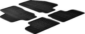 Резиновые коврики Gledring для Opel Astra G (mkII) 1998-2009 - Фото 1