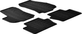 Резиновые коврики Gledring для Opel Zafira (mkII)(B) 2005-2011 - Фото 1