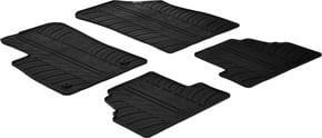 Резиновые коврики Gledring для Opel Mokka (mkI)(полный привод) 2012-2021; Chevrolet Trax (mkI) 2012→ - Фото 1