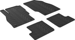 Резиновые коврики Gledring для Opel Adam (mkI) 2013-2019 - Фото 1