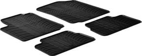 Резиновые коврики Gledring для Citroen C3 (mkI) 2002-2009 - Фото 1