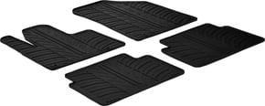 Резиновые коврики Gledring для Citroen C5 (mkII) 2008-2017 - Фото 1