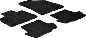 Резиновые коврики Gledring для Citroen DS5 (mkI) 2011-2018 - Фото 1