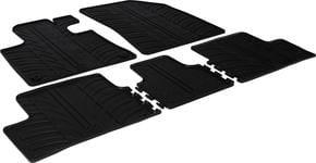 Резиновые коврики Gledring для Citroen C4 Picasso / C4 Spacetourer (mkII) 2013→ - Фото 1