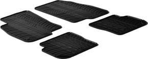 Резиновые коврики Gledring для Fiat Punto (mkIII)(Evo) 2010-2014 - Фото 1