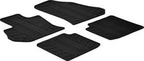 Резиновые коврики Gledring для Fiat 500L (mkI) 2012-2017 - Фото 1