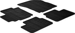 Резиновые коврики Gledring для Suzuki SX4 (mkI); Fiat Sedici (mkI) 2007-2014 - Фото 1