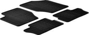 Резиновые коврики Gledring для Peugeot 307 (mkI) 2001-2008 / 308 (mkI) 2008-2014 - Фото 1