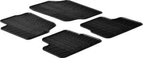 Резиновые коврики Gledring для Peugeot 207 (mkI) 2006-2012 - Фото 1