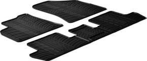 Резиновые коврики Gledring для Peugeot 3008 (mkI) / 5008 (mkI) 2008-2016 - Фото 1