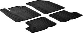 Резиновые коврики Gledring для Renault/Dacia Sandero (mkI) 2007-2012 - Фото 1