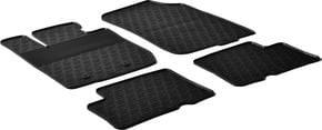 Резиновые коврики Gledring для Renault/Dacia Duster (mkI)(полный привод) 2010-2015 - Фото 1