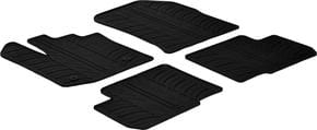 Резиновые коврики Gledring для Renault/Dacia Lodgy (mkI) 2012-2021 - Фото 1