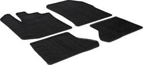 Резиновые коврики Gledring для Renault/Dacia Dokker (mkI)(1-2 ряд) 2013→ - Фото 1