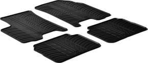 Резиновые коврики Gledring для Chevrolet Aveo (mkI) 2006-2011 - Фото 1