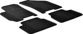 Резиновые коврики Gledring для Chevrolet/Daewoo Lacetti/Nubira (mkI)(J200) 2004→ - Фото 1