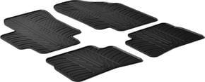 Резиновые коврики Gledring для Hyundai Accent (mkIII); Kia Rio (mkII) 2005-2011 - Фото 1