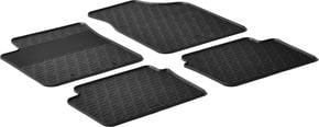 Резиновые коврики Gledring для Hyundai i10 (mkI) 2007-2014 - Фото 1