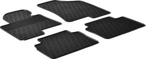 Резиновые коврики Gledring для Hyundai ix35 (mkII); Kia Sportage (mkIII) 2009-2015 - Фото 1