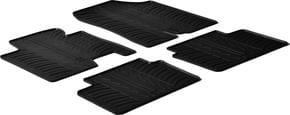 Резиновые коврики Gledring для Hyundai i30 (mkII); Kia Cee'd (mkII) 2012-2015 - Фото 1
