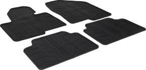 Резиновые коврики Gledring для Hyundai Santa Fe (mkIII) 2012-2018 - Фото 1
