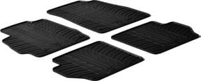 Резиновые коврики Gledring для Mazda 2 (mkIII) 2007-2014 - Фото 1