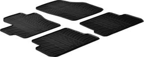 Резиновые коврики Gledring для Mazda 3 (mkI) 2003-2009 - Фото 1