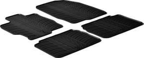 Резиновые коврики Gledring для Mazda 6 (mkII) 2007-2012 - Фото 1