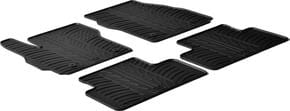 Резиновые коврики Gledring для Mazda 5 (mkIII) 2010→ - Фото 1