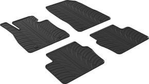 Резиновые коврики Gledring для Mazda 2 (mkIV) 2014→ - Фото 1