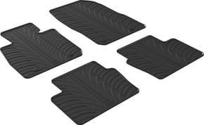 Резиновые коврики Gledring для Mazda CX-3 (mkI) 2015→