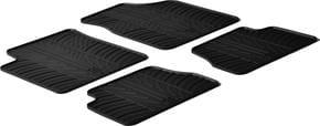 Резиновые коврики Gledring для Kia Picanto (mkI) 2004-2011 - Фото 1