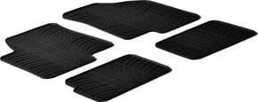 Резиновые коврики Gledring для Kia Soul (mkI) 2008-2013 - Фото 1