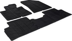 Резиновые коврики Gledring для Kia Carens (mkIII) 2013-2019 МКПП - Фото 1