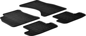 Резиновые коврики Gledring для Audi A4/S4/RS4 (mkIV)(B8) / A5/S5 (mkI)(B8)(лифтбэк) 2007-2016 - Фото 1