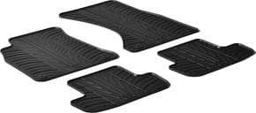Резиновые коврики Gledring для Audi A5/S5/RS5 (mkI)(B8)(купе) 2007-2016 - Фото 1