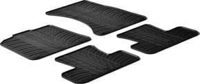 Резиновые коврики Gledring для Audi Q5/SQ5 (mkI) 2008-2017 - Фото 1