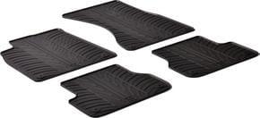 Резиновые коврики Gledring для Audi A6/S6/RS6 (mkIV)(C7) / A7/S7/RS7 (mkI) 2011-2018 - Фото 1