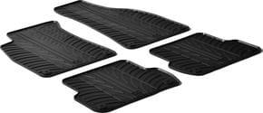 Резиновые коврики Gledring для Audi A4/S4/RS4 (mkII)(B6); Seat Exeo (mkI) 2000-2006 - Фото 1
