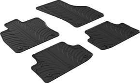 Резиновые коврики Gledring для Audi A3/S3/RS3 (mkIII)(седан и хетчбэк) 2012-2020 - Фото 1