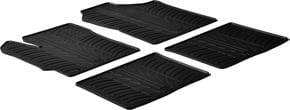 Резиновые коврики Gledring для Toyota Yaris (mkIII)(5-дв.) 2010-2020 - Фото 1
