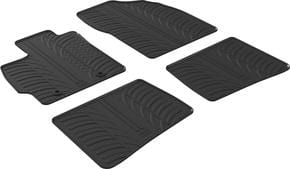 Резиновые коврики Gledring для Toyota Prius (mkIII) 2009-2012 - Фото 1