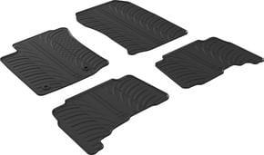 Резиновые коврики Gledring для Toyota Land Cruiser Prado (J150) 2013→ АКПП - Фото 1