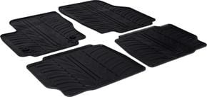 Резиновые коврики Gledring для Ford Mondeo (mkIV)(лифтбэк) 2011-2015 - Фото 1