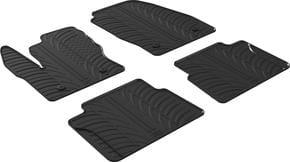 Резиновые коврики Gledring для Ford Tourneo Connect (mkII)(1-2 ряд) 2014→ - Фото 1