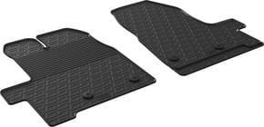 Резиновые коврики Gledring для Ford Transit/Tourneo Custom (mkI)(3 места)(1 ряд) 2012-2017 - Фото 1