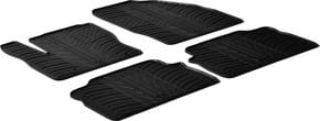 Резиновые коврики Gledring для Ford Kuga (mkI) 2008-2011 / C-Max (mkI) 2003-2010 - Фото 1