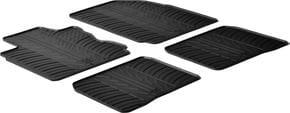 Резиновые коврики Gledring для Nissan Note (mkI) 2006-2012 - Фото 1