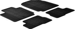 Резиновые коврики Gledring для Nissan Micra (mkIII) 2002-2010 - Фото 1