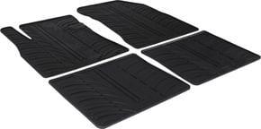 Резиновые коврики Gledring для Nissan Note (mkII) 2013→ - Фото 1
